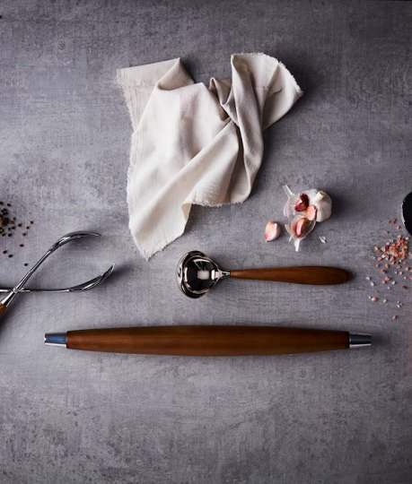 Elevate the everyday with our designer cooking utensils and kitchen accessories